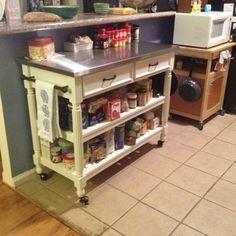 Home Styles Concrete Chic Indooroutdoor Kitchen Cart  Indoor Adorable Outdoor Kitchen Home Depot Decorating Inspiration