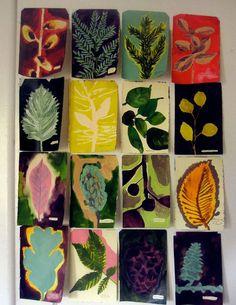 Herbarium kunstlessen en presentatie | Eline Janssens