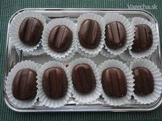 Toto je dávny recept zo Života a robievam ho dosť často. Xmas Cookies, Brownie Cookies, Czech Recipes, Healthy Cookies, Biscuit Recipe, Love Cake, Sweet Desserts, Chocolate, Desert Recipes