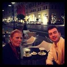 Together with Her Serene Highness Princess Madeleine of Bentheim-Steinfurt.