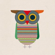 """Good Luck Owl"" by Michael Golan by MyOwlBarn, via Flickr"
