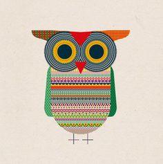 """Good Luck Owl"" by Michael Golan by MyOwlBarn, via Flickr"