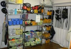 how to organize and store your backpacking gear | Re: re:Organizing your outdoor gear on 11/21/2006 22:05:17 MST