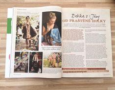 Rozhovor se Zuzkou o její tvorbě, batice, přírodním životě a Indonésii pro časopis Kreativ / prosinec 2017 Polaroid Film, Weights