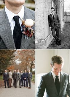 The country elegance and in cooler tones it is the perfect attire for Winter wedding on a vineyard or country estate