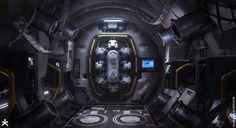 ArtStation - Killzone Shadow Fall - Cassandra air lock, karakter design studio