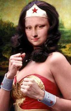 Mona Lisa - wonder womanlisa