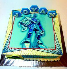 Sensational Cakes Online ( Singapore): HERO FACTORY CAKE SINGAPORE