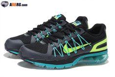 official photos 59b39 e4648 New Air Max 2020 Semi-palm Cushion Mens Running Shoes Black Green   1801-AIRMAX20M-6  -  89.00