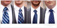 groomsmen-ties @Mandy Bryant Dewey Seasons Bridal