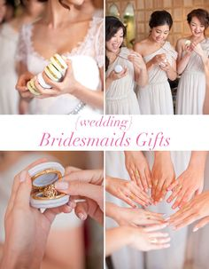 bridesmaids gift,  very cute idea!!! ♥