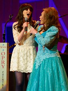 Zooey Deschanel to play Loretta Lynn in Broadway adaptation of 'Coal Miner's Daughter'. And my heart weeps because I don't live in NYC.