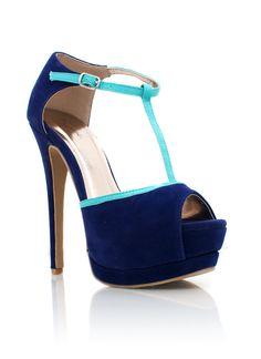 Kappa shoes! Two-tone t-strap platforms $33.00