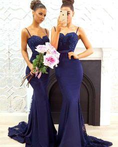 1ad849ddd67f Elegant Lace Appliques Sweetheart Mermaid Backless Bridesmaid Dresses