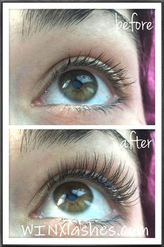 Before and after, eyelash extensions from WINX Lash and Makeup Studio in Houston #xtreme #xtremelashes #WINX #eyelashextensions #lashextensions #lashes #lashesbyjodie