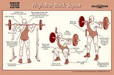 High-Bar Back Squat