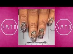 75 Nail Art Tutorial Compilation Videos Part 52 @meauxgeesnails Style