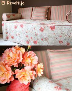 Una cama se puede convertir en sofá!! A bed can become a sofa!!