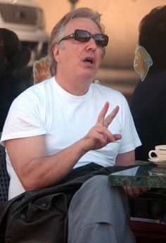 November 13, 2005 -- Alan Rickman out and about in Beverly Hills, California.