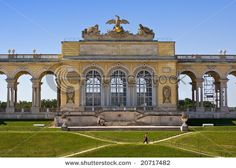 April holiday: The Gloriette at Schonbrunn Palace, Austria. Built for MA's mother, Maria Theresa at her favourite home. The view from the top is extraordinary.