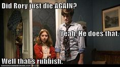Did Rory just die again? ... oh, adorable little Amelia Pond.