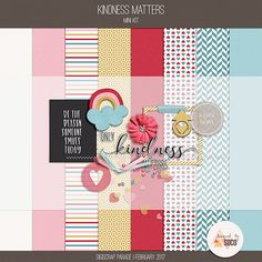 Free Kindness Matters Mini Kit from Designed by Soco {February 2017 DigiScrap Parade}