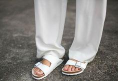 Birkenstocks, making them work 2014 Trends, Walk This Way, Australian Fashion, Summer Wardrobe, Signature Style, Spring Summer Fashion, What To Wear, Personal Style, Fashion Accessories