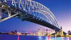 Free desktop sydney harbour bridge