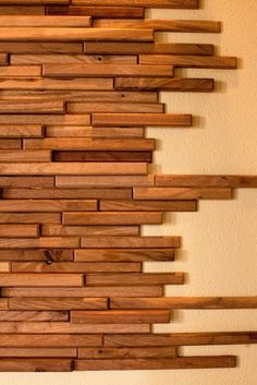 Recycled hand made timber wall tiles. Everitt & Schilling Tile is a company that specialises in up-cycled and re-claimed handmade wood wall tiles. Wood Wall Tiles, Wooden Walls, Wood Wall Art, Wooden Wall Design, Wooden Wall Decor, Cement Tiles, Mosaic Tiles, Into The Woods, Wood Accents