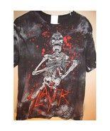 Vintage SLAYER tour shirt , medium - $23.99