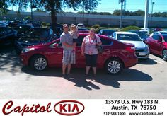 #HappyAnniversary to Cody Ischman on your 2014 #Kia #Forte from Andrew Meyer at Capitol Kia!
