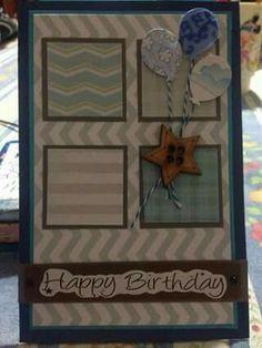 tarjeta Felíz Cumpleaños para hombre