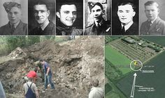 'The final page in their story': World War Two Lancaster bomber and its crewmen's remains discovered in German field 69 years after it crashed
