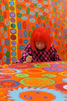 I Who Have Arrived In Heaven: Yayoi Kusamas exhibition at David Zwirner gallery, New York