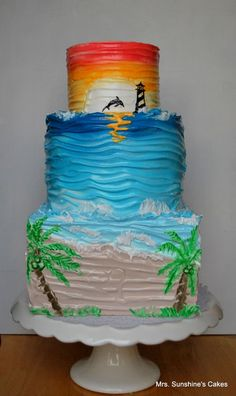 cool looking birthday cakes