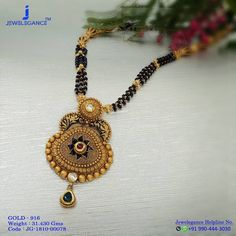 Magalsutra Designs For The Shimmering Diva In You. Get in touch with us on Gold Jewelry Simple, Gold Rings Jewelry, Rhinestone Jewelry, Beaded Jewelry, Gold Bangles, Jewelery, Fancy Jewellery, Gold Jewellery Design, Latest Jewellery