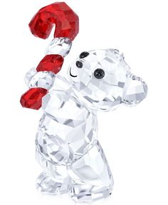 Celebrate another year and another holiday season with this Swarovski Annual Kris Bear figurine. Your friends and family will barely be able to contain their holiday spirit in the presence of such an
