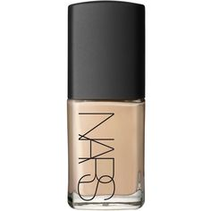 Nars Sheer Glow foundation ($33) ❤ liked on Polyvore featuring beauty products, makeup, face makeup, foundation, beauty, fillers, nails, hydrating foundation, moisturizing foundation and dry skin foundation