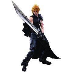 Square Enix Final Fantasy: Advent Children: Cloud Strife Play Arts Kai Action Figure -- Find out more about the great product at the image link. (This is an affiliate link) #ActionFiguresStatues