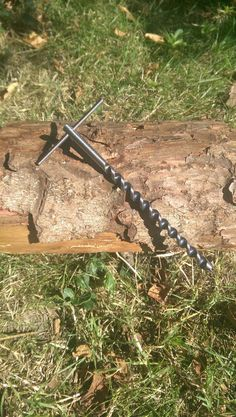 Mini Scotch Eyed T Auger For Bushcraft & Survival by 1066Survival