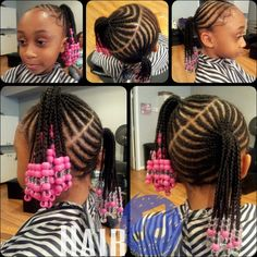 Admirable 1000 Images About Niyah On Pinterest Braids And Beads Cornrows Short Hairstyles Gunalazisus
