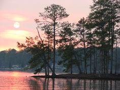 Lake Sinclair, Georgia