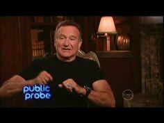 Robin Williams interview on ROVE (Australia) Live & Uncensored DVD