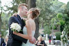 Roma | Ashling + Ivan got married in Rome, at Casina Valadier's garden. #ivanzaytsev #rome #wedding