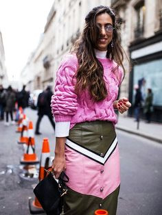 Haute Couture Fashion Week street style looks are coming in, and they're just as glam and inspirational as ever. Click in to see the best. #fashionweeks,