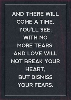 Heart break inspirational inspirational..... could have used this about 4 years ago.... because its true