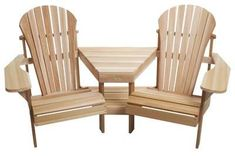 Looking for All Things Cedar Adirondack Outdoor Corner Tete-A-Tete ? Check out our picks for the All Things Cedar Adirondack Outdoor Corner Tete-A-Tete from the popular stores - all in one. Adirondack Chair Plans, Adirondack Furniture, Rustic Furniture, Garden Furniture, Outdoor Furniture, Modern Furniture, Fireplace Furniture, Fireplace Mantel, Fireplace Ideas