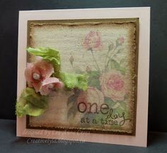 Crinoline Roses and Canvas One Day