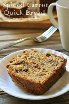 You can feel good about starting the day with this lightened-up carrot quick bread that tastes like carrot cake! Did you have a nice long weekend? Labor Day Weekend came and gone, and as always, i…