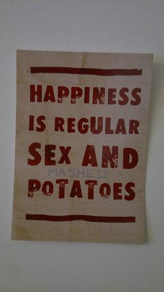 and by potatoes i mean vodka